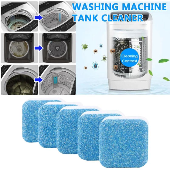 The deodorant for washing machines is a great ally when it comes to cleaning washing machines with bad smells